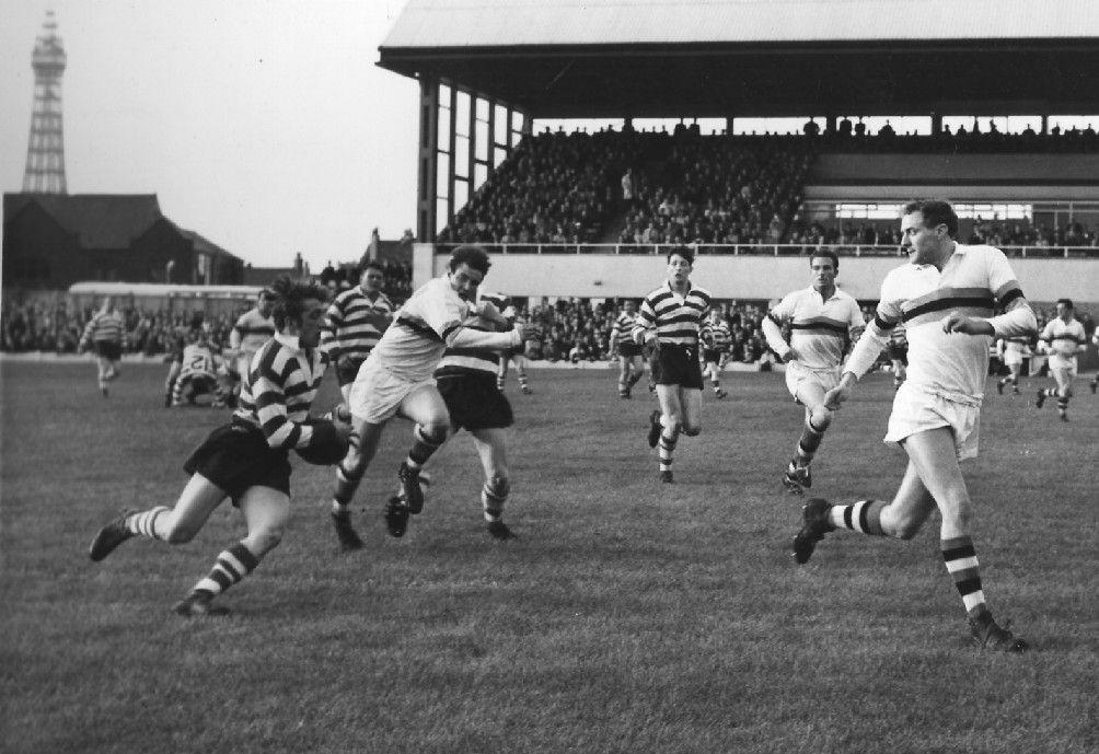 Blackpool vs Oldham Season 64-65