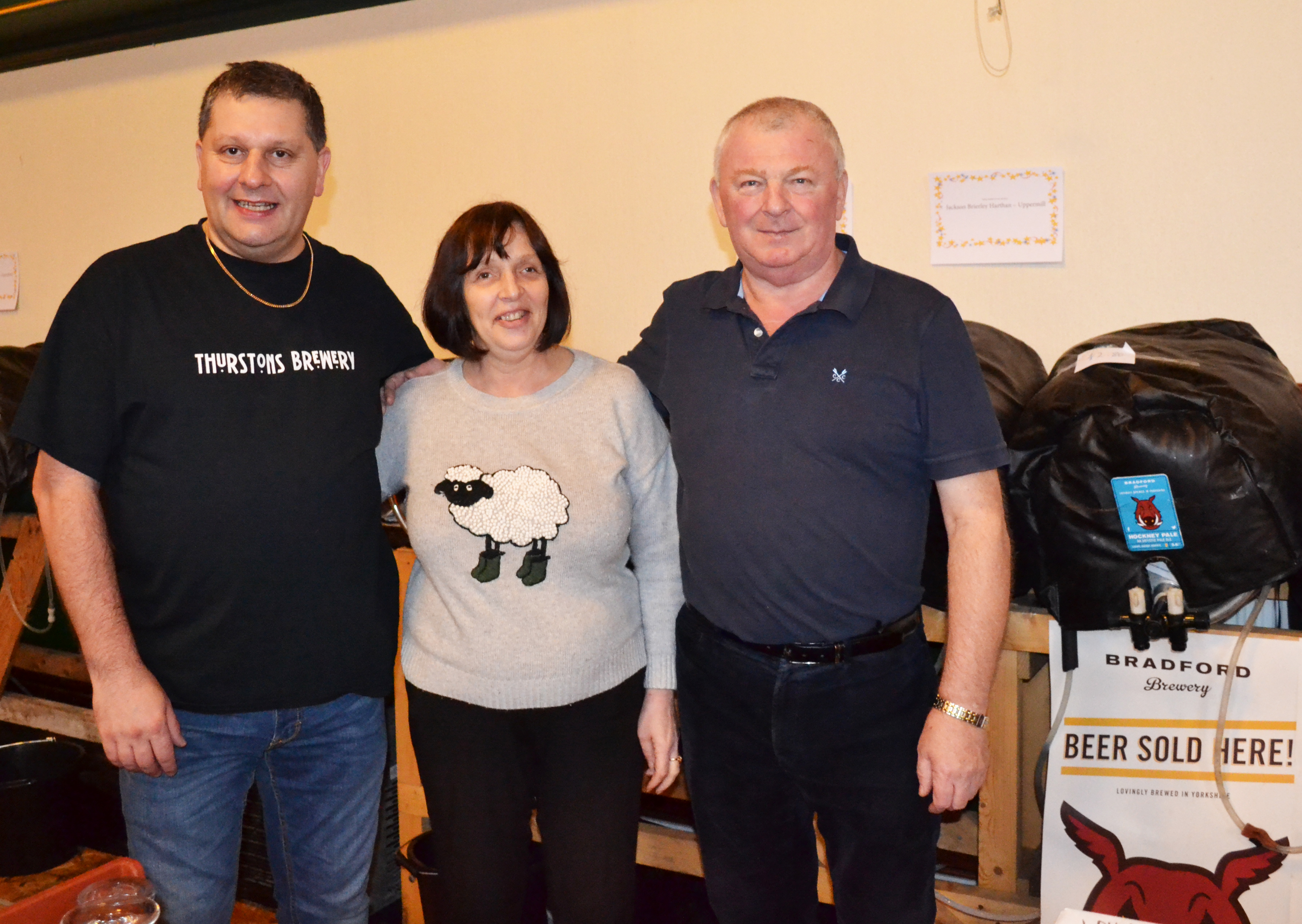 Peter Buckley, Heather Casson and Peter Archer