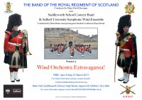 Band of the Royal Regiment of Scotland to bring Wind Orchestra Extravaganza to Saddleworth
