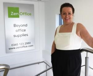 Steph Hitchman ZenOffice Sales Director 2016