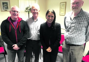 p5 Jamie Curley, Andrew Taylor, Debbie Abrahams, Mike Rooke